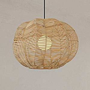 Cheap rattan chandelier shades find rattan chandelier shades deals southeast asian restaurant round rattan rattan chandelier pendant lamp bedroom den balcony corridor 4532cm aloadofball Image collections
