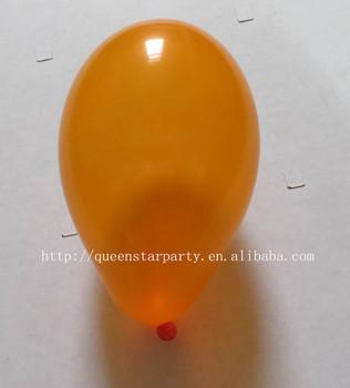 Latex Balloons Water Standard Pastel Color Orange