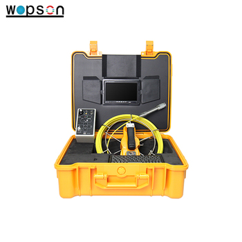 Hot sale pipe inspection camera with self -leveling & 512 HZ transmitter