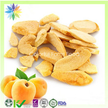 Fruit Bulk supply freeze dried yellow peach chips