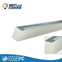 Factory Price 40W led ceiling lights with CE RoHS LED linear rail light fixture