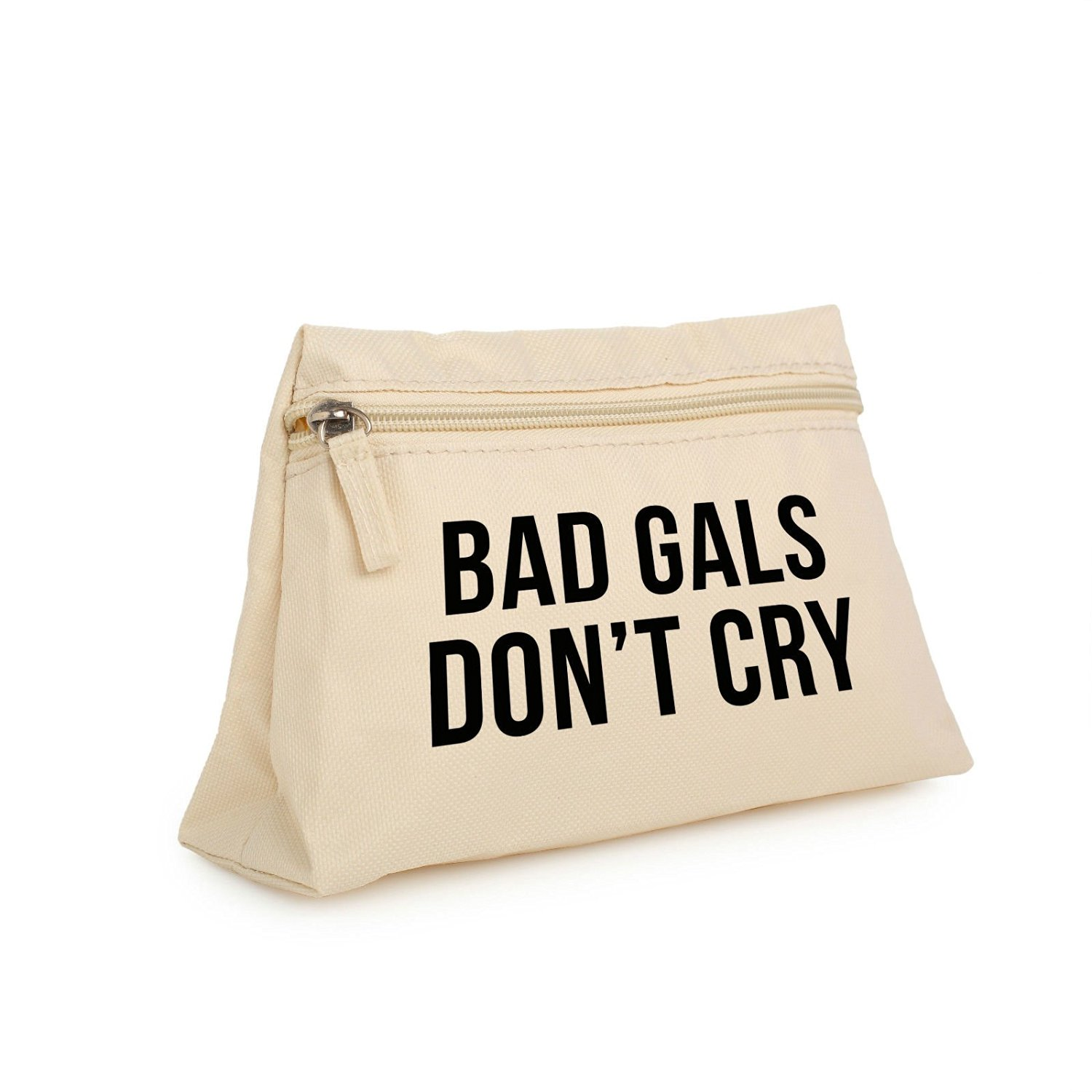 Get quotations · bad girls dont cry makeup bag pencil case toiletry organizer purse tumblr