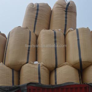 bulk bag himalayan rock salt packing in woven bag with plastic insert bag