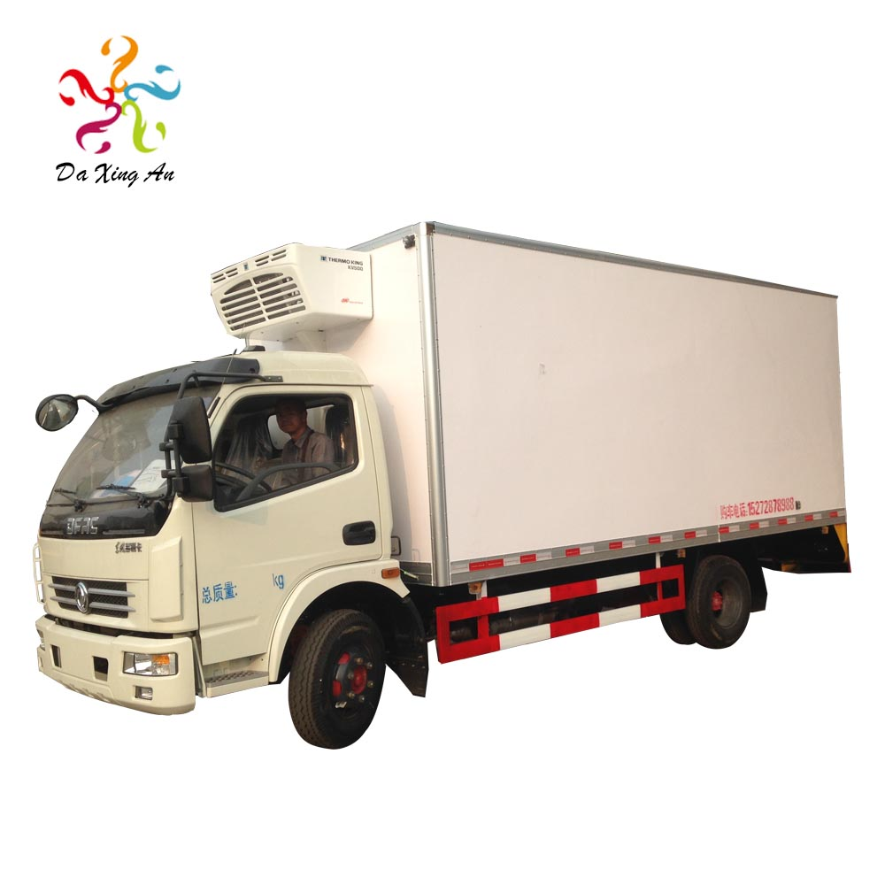 1.5T Popular refrigerated cold room van truck / Carrier Freezer Box For Sale