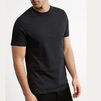 100% pima cotton t shirt/ men muscle tee wholesale graphic tees