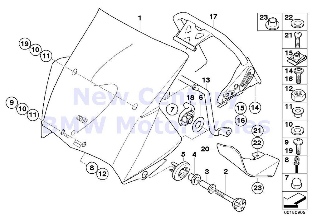 Buy Bmw Genuine Motorcycle Windshield O Ring 6x1 8 R1200gs R1200gs