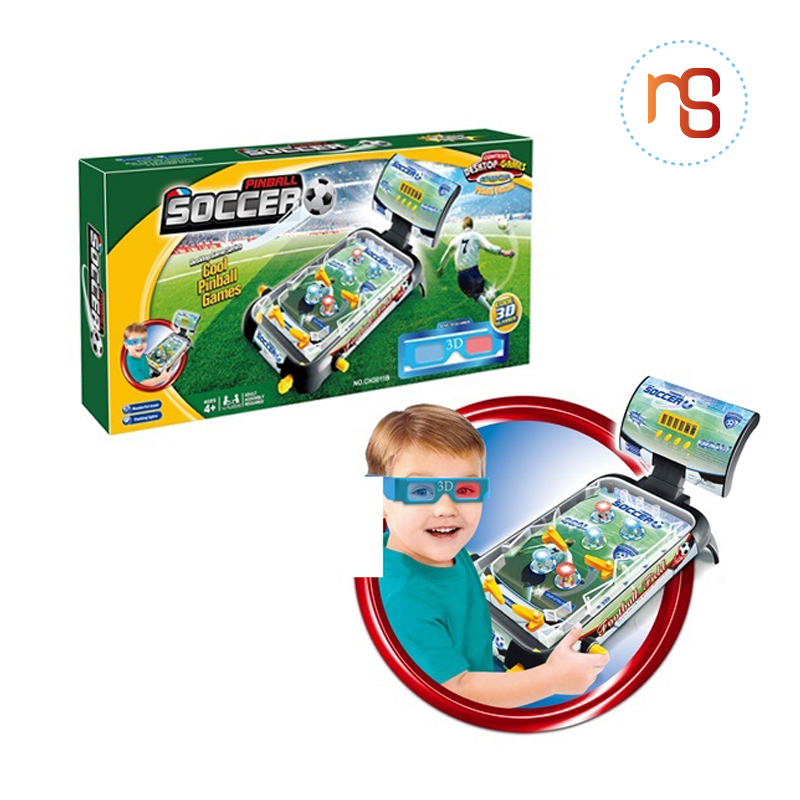 Children favorite game 3D pinball mini soccer game toy with good price