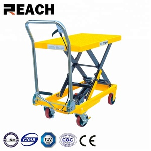 300kg Movable mini factory direct supply hydraulic scissor lift table