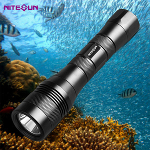 Nitesun waterproof scuba light dive torch underwater diving led flashlight
