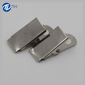 Wholesale Metal Badge ID Card Holder Clip With Cheap Price