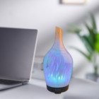 100ML Auto Off Ultrasonic Diffuser LED Colorful Night-Ligting Aroma Mist Maker
