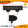 10w Crees Chips 11 inch led light bar 60W LED Driving Lighting Offroad Fog Lamp Boat led lamp for car