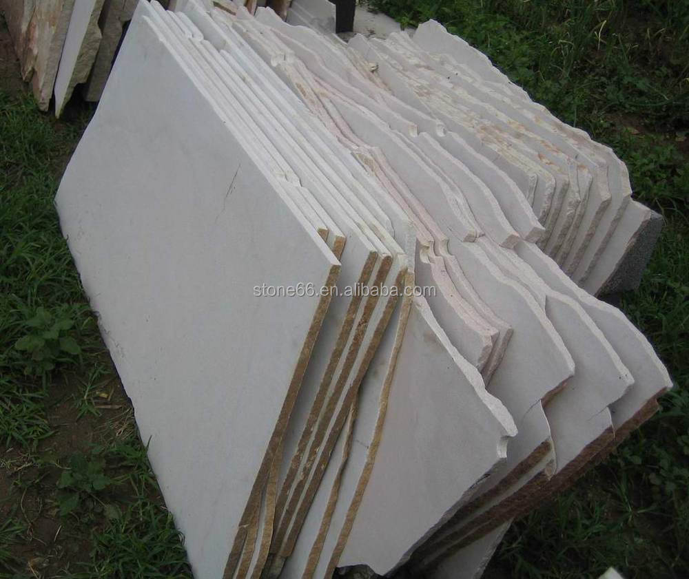 Polished White Grey Sandstone Slabs Prices For Sale