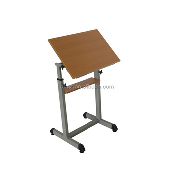 drafting table desk. Wooden Desk Top Height Adjustable Drafting Table For School Drawing Class