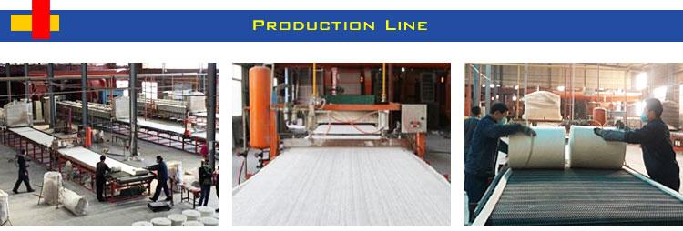A melhor qualidade china silicato de alumínio da fibra cerâmica cobertor de isolamento de sílica alumina zibo