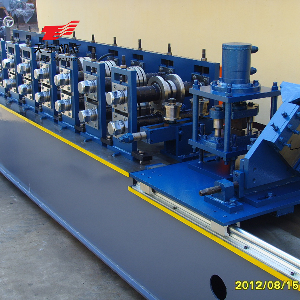 Steel Double C and U shape Roll Making Line Light Steel Stud Frame Form <strong>Machine</strong> to Make Drywall Profiles