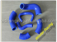 Silicone Radiator Hose Kit Coolant Pipe for Mitsubishi Lancer Evolution EVO 7 8 9 CT9A silicone Turbo Intercooler hose kit