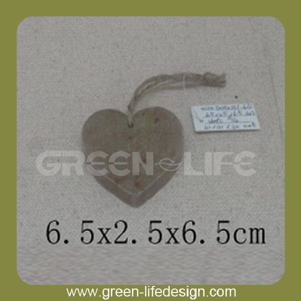 Heart Craft Wood Slices
