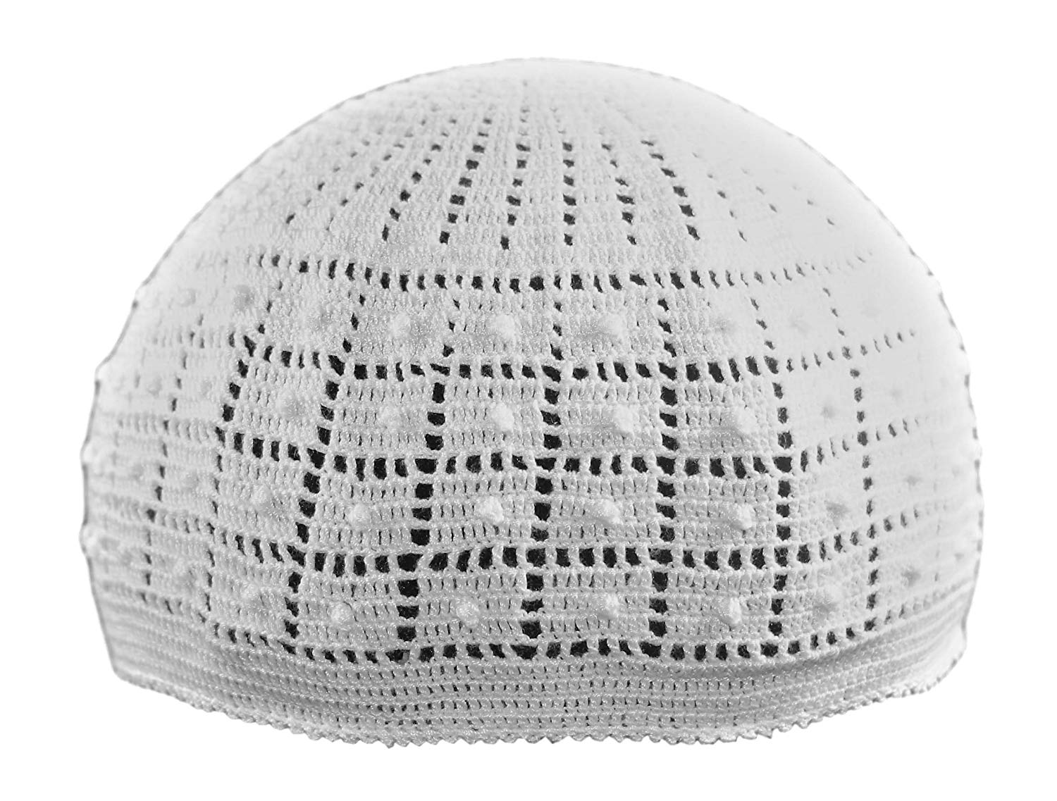 e1ca791725a Get Quotations · Muslim Baby Dotted Crochet Cap