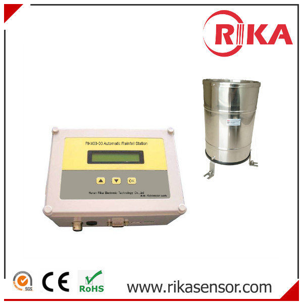 RK400-03 Tipping Bucket Rainfall Sensor with Data Logger