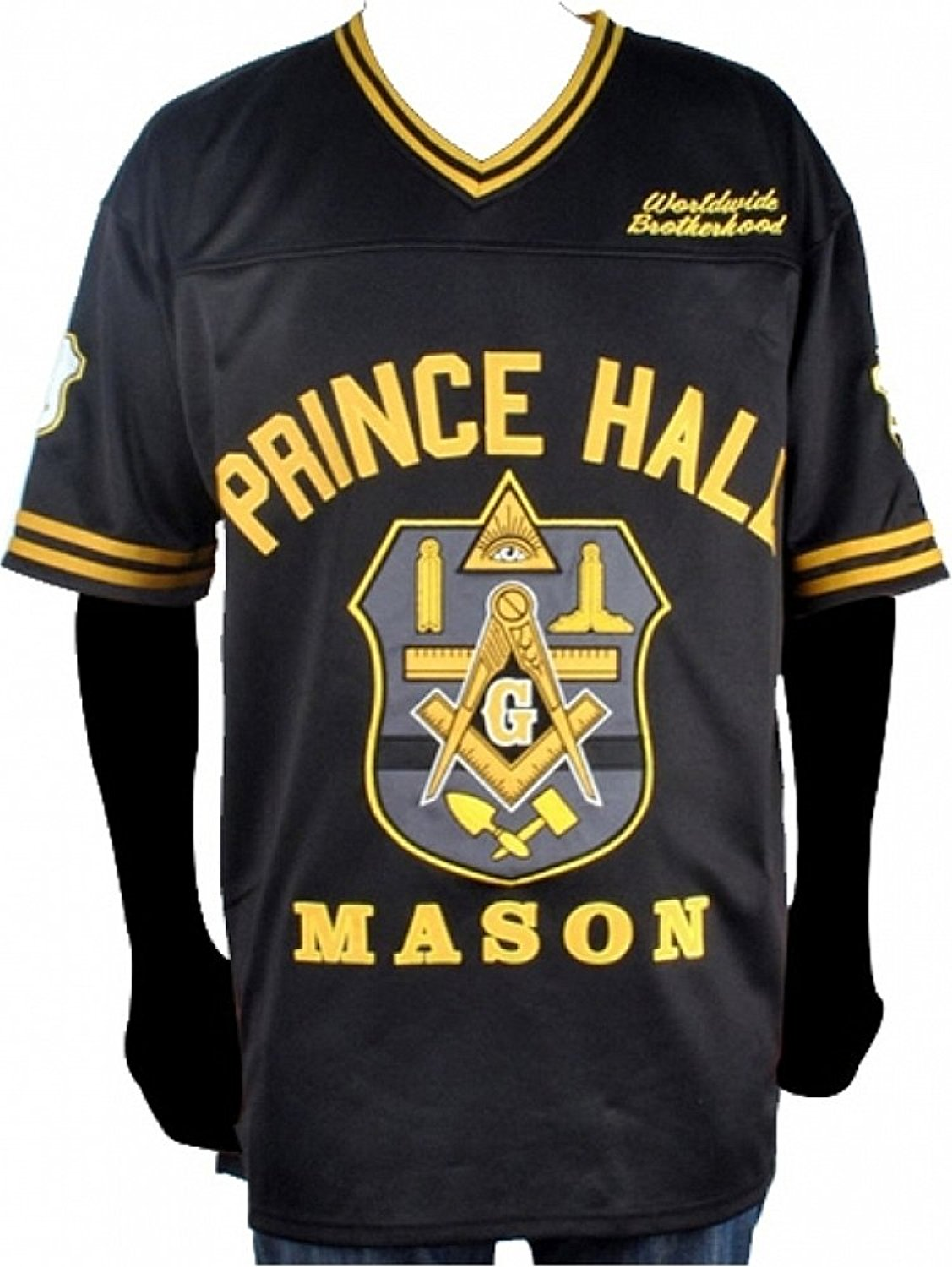Cultural Exchange Prince Hall Mason F&AM Divine Mens Football Jersey