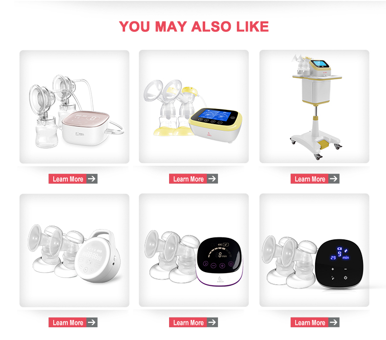 Natural 3D Breast Pump Breast pump double electric breast milk smart breastfeeding pumps