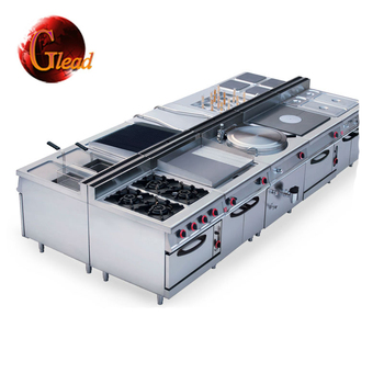 CE Approval Professional Commercial Hotel Kitchen Equipment