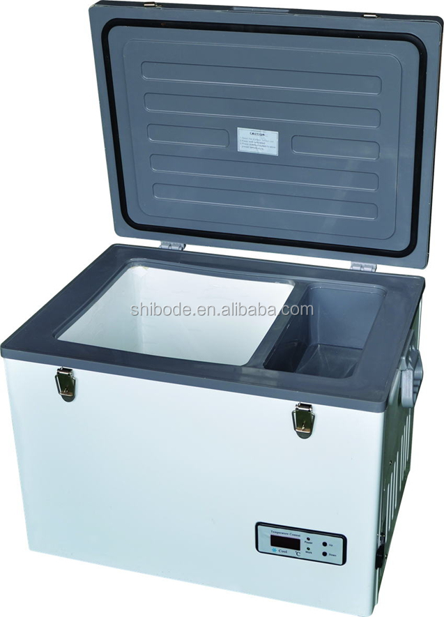 45L ACDC outdoor solar potable mobile car freezer/camping freezer/RV freezer Freezer & Fridge