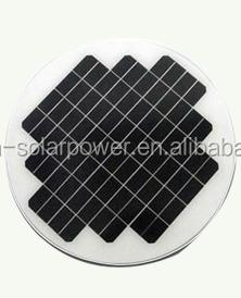 3w 5w Round Solar Panel 9v 12v 18v With Ce Amp Rohs Approval