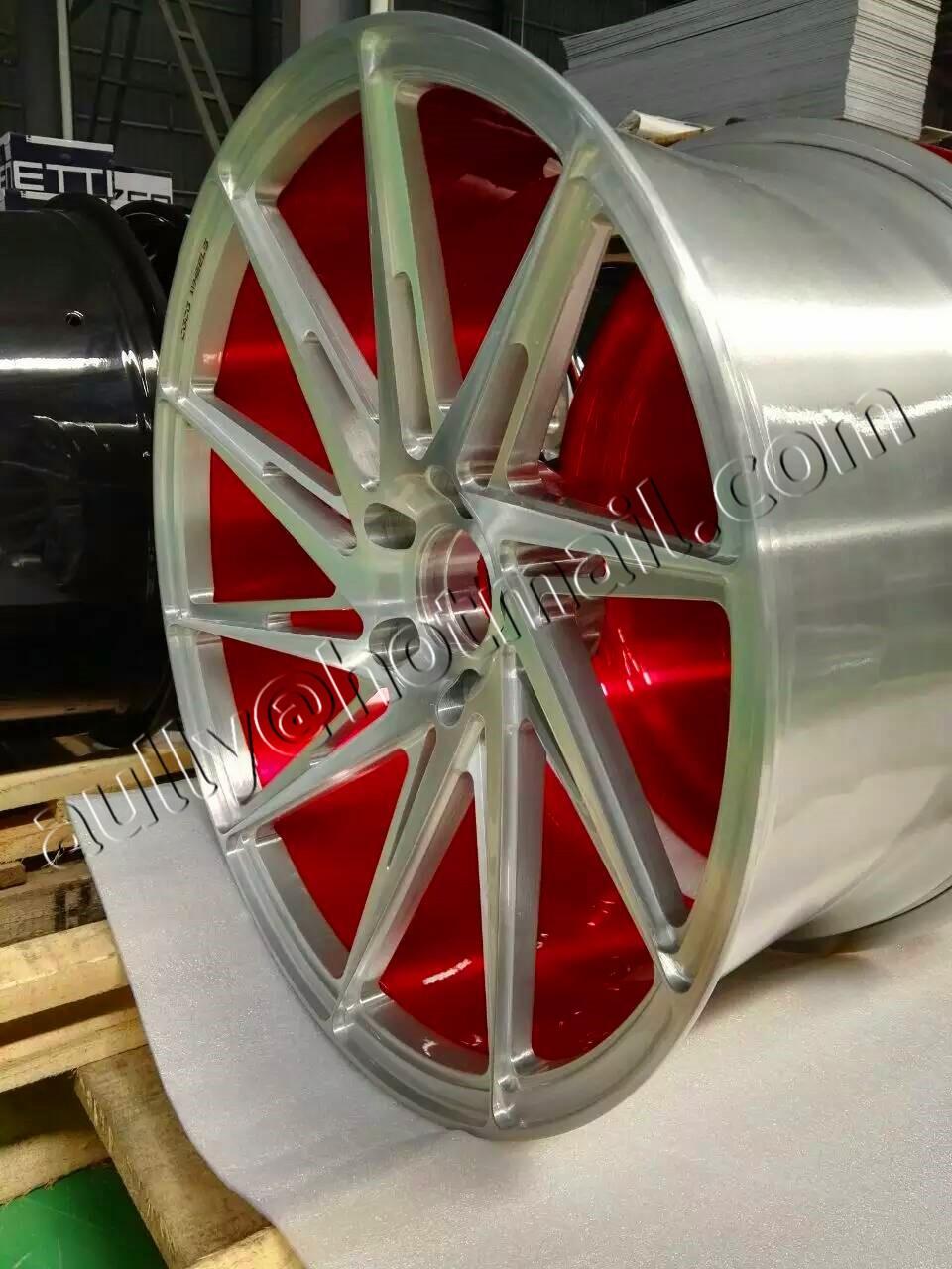Car Wheels Aluminum Rims Replica Alloy Wheels Auto Car Wheels For ...