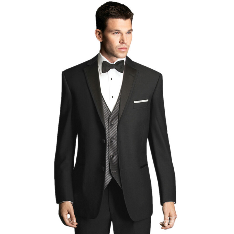 Buy Custom Made Men Suits Designer Black Formal Suits Men Wedding ...