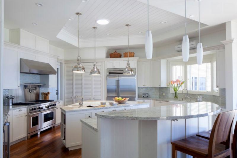luxus entworfen große küche, moderne küche schranktür-wandschrank, Hause ideen