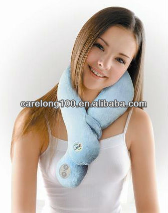 warm and massage scarf for the neck