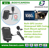 Portable Ambarella 1080P dvr recorder with 2 inch screen police body camera security camera system wireless