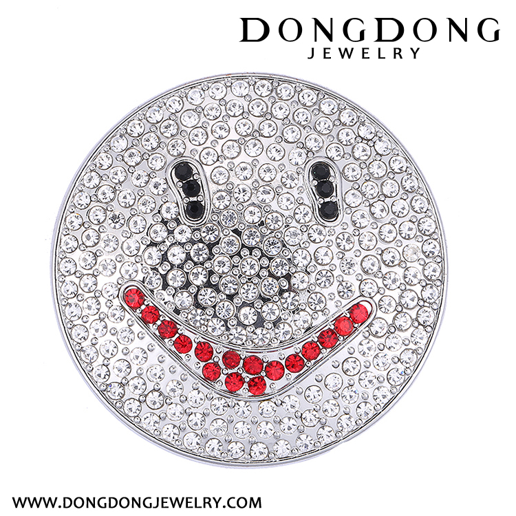 dongdong Fashion lady, pointed star,smile Brooch