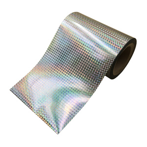 Clear mylar mirror insulation plastic adhesive holographic polyester film paper roll