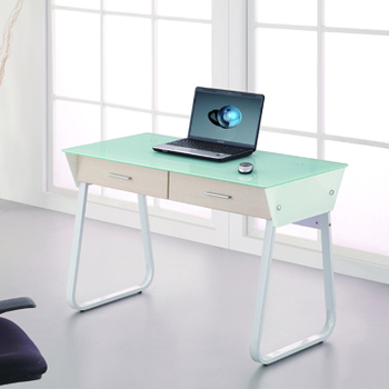 2017 Modern Tempered Gl Home Computer Table