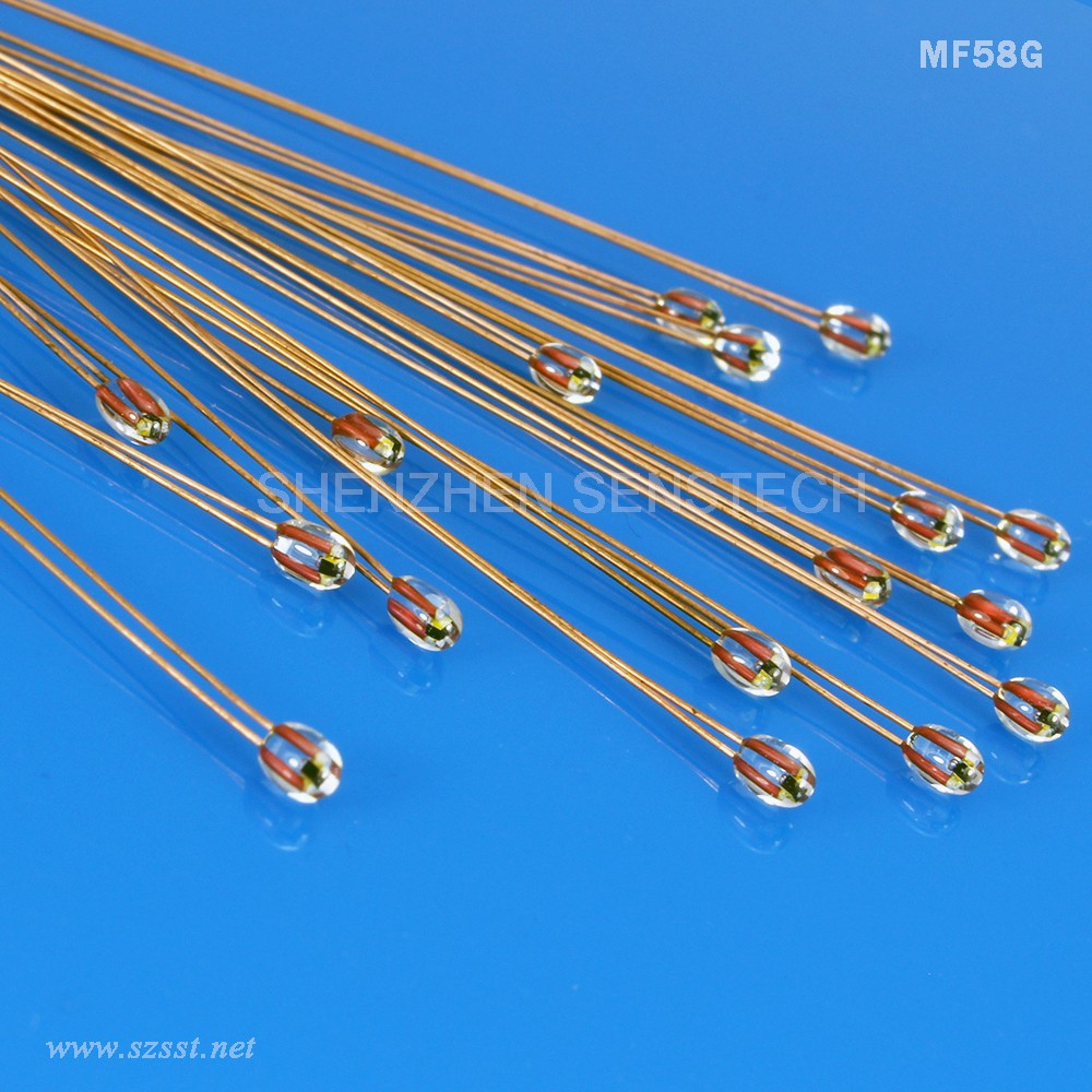 High Temperature MF58 Single-Terminal Radial Glass sealed NTC Thermistor for 3D Printer