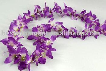 orchid flower garland buy flower garland garland artificial