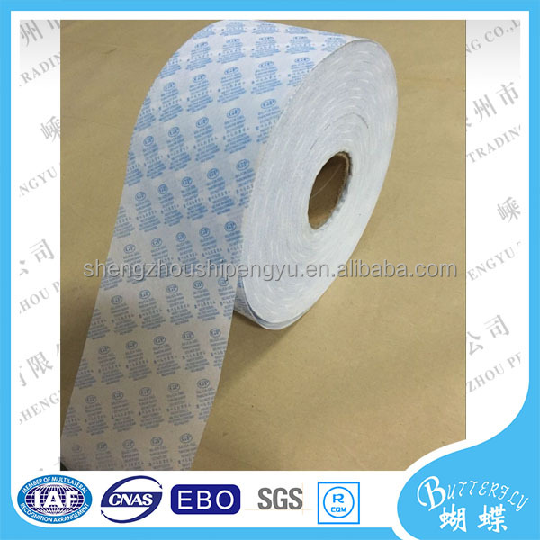 Excellent Thermal Stability Heat Sealing Desiccant Paper Non Woven Paper