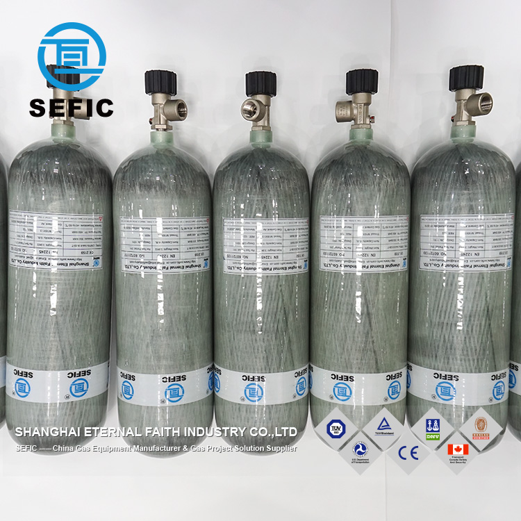 China munufactured high pressure carbon fiber air tank/cylinder/bottle