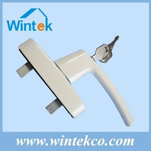 Universal security casement window lock handle hardware importer