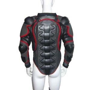 Motorbike body armor for rider