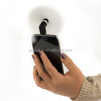 Cool Breeze Android Mini Hand Held Powerful Small Fan
