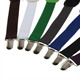 Mini Suspender Clips Adjustable Clip-on Unisex Pants Full Elastic and Y-back Suspender Belt Parts