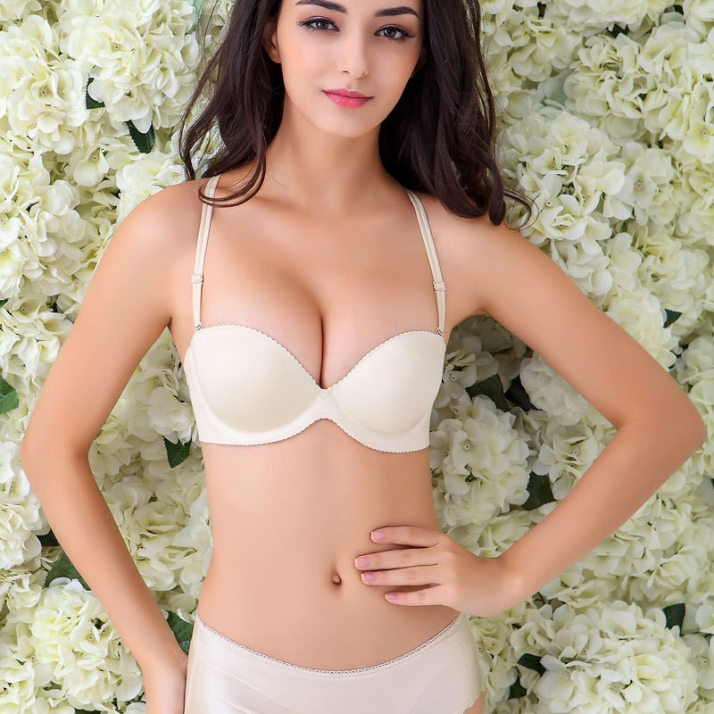 Sex in white bra