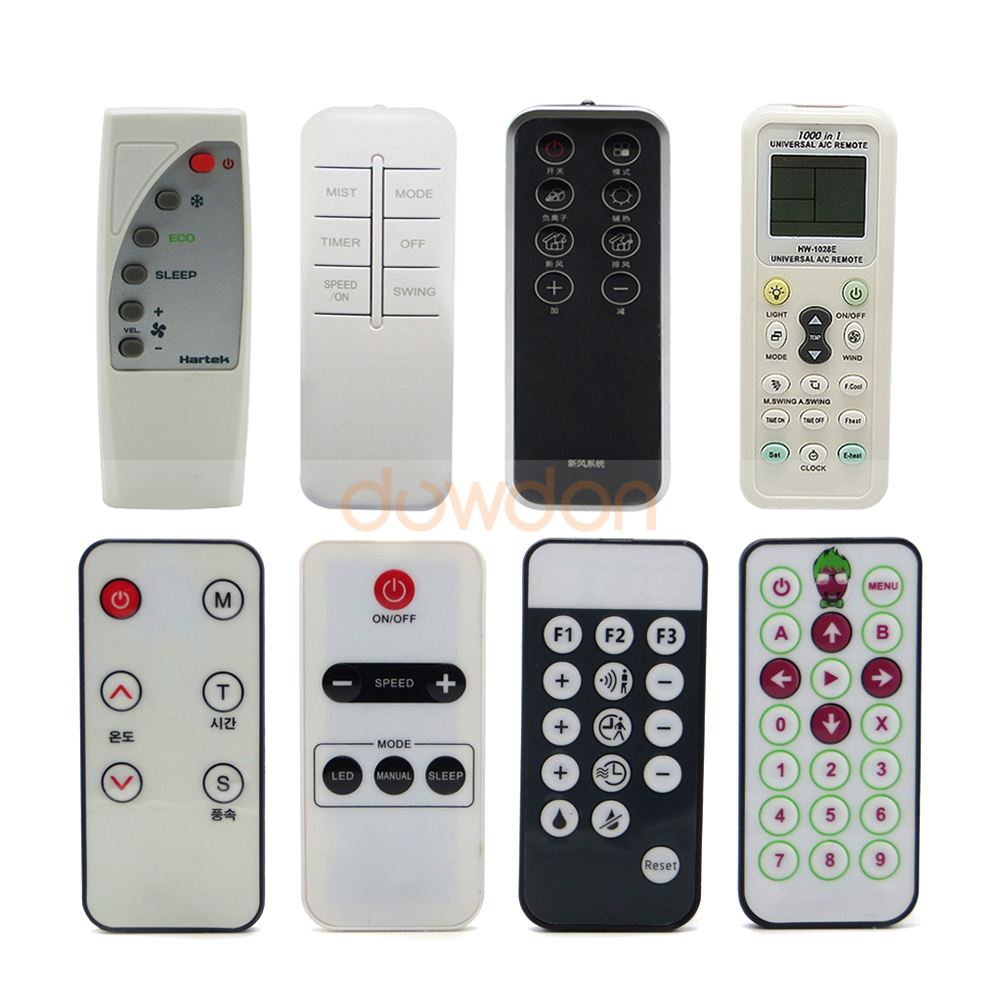 Manufacturer IR Remote Control RF Remote Controller for Air Purifier LED Light Speaker Support Customize