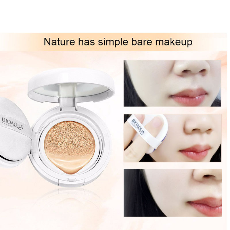 Fashion Air Cushion BB Cream Concealer Moisturizing Foundation Makeup Bare Strong Whitening Face Beauty Makeup Maquiagem