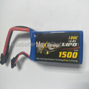 XT60 plug 130C 1500mAh 4S 14.8v Graphene Lipo batteries RC batteries
