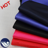 2016 polyester warp knitted sport lining tricot plain fabric / tricot plain mercerized cloth fabric for wportwears